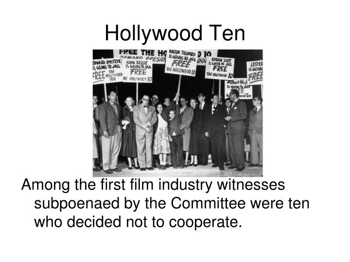 Hollywood Ten