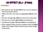 an effect n i fekt2