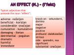an effect n i fekt3