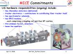 mice commitments