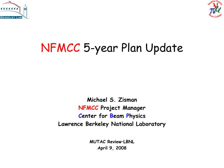 Nfmcc 5 year plan update