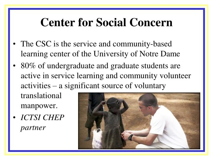 Center for Social Concern
