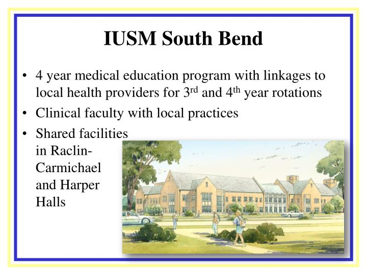 IUSM South Bend