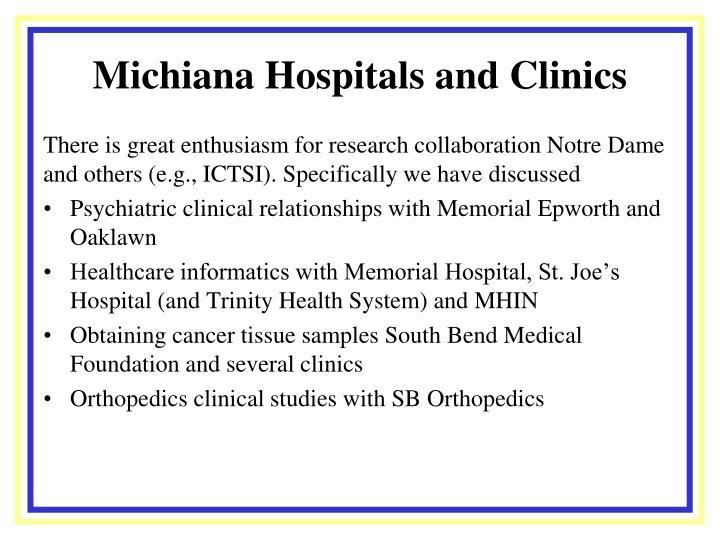 Michiana Hospitals and Clinics