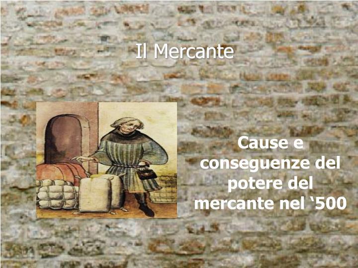 Il Mercante