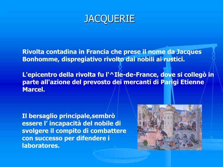 JACQUERIE