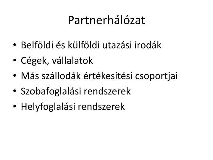 Partnerhálózat