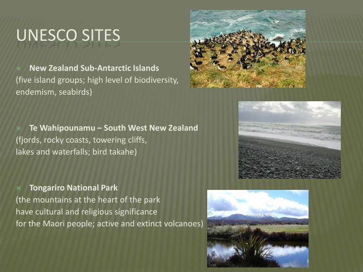 New Zealand Sub-Antarctic Islands
