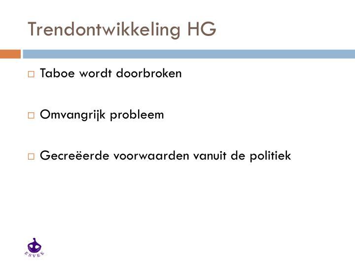 Trendontwikkeling HG