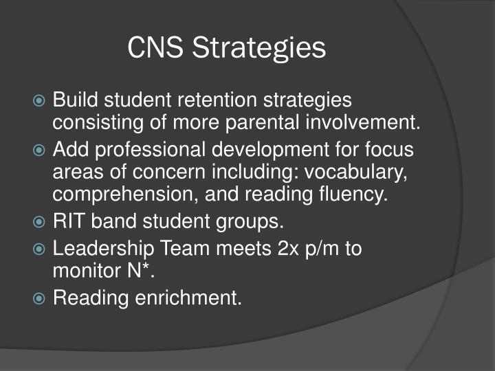 CNS Strategies