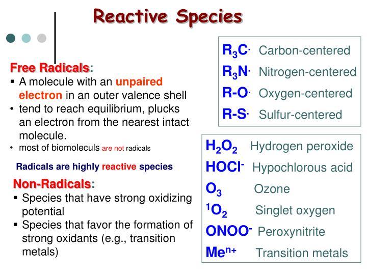 Reactive Species