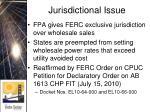 jurisdictional issue