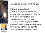 jurisdictional solutions