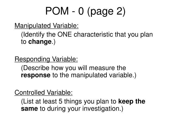 POM - 0 (page 2)