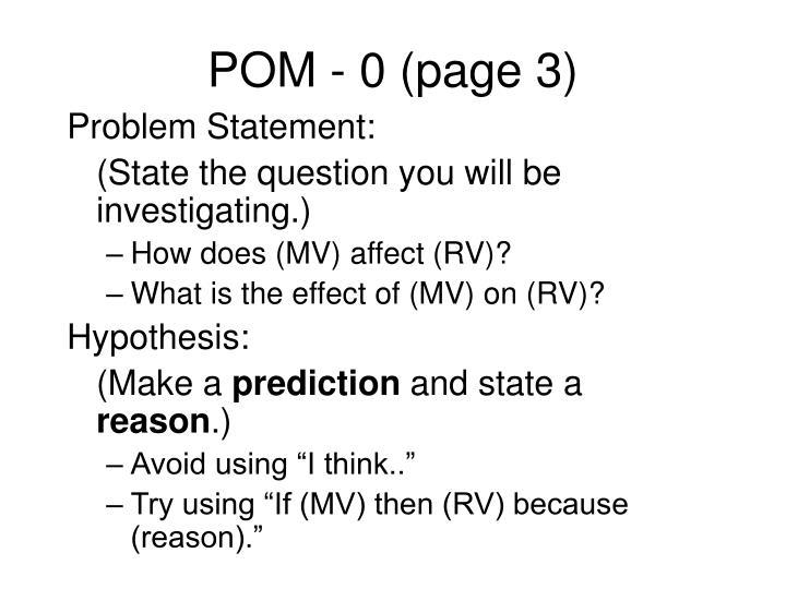 POM - 0 (page 3)