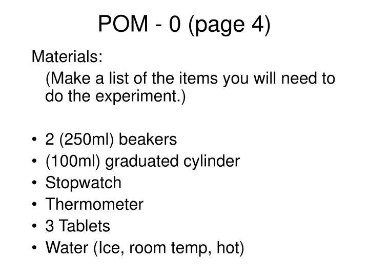 POM - 0 (page 4)