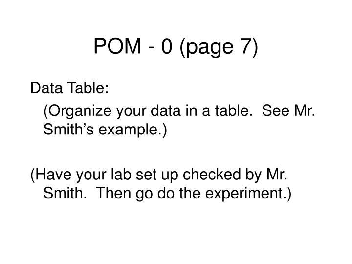 POM - 0 (page 7)