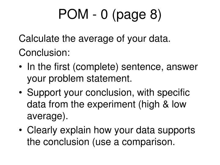 POM - 0 (page 8)