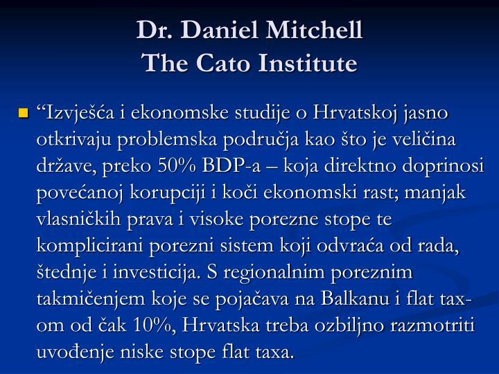 Dr. Daniel Mitchell