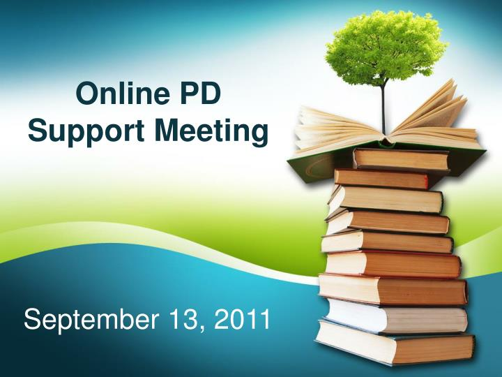 Online PD Support Meeting
