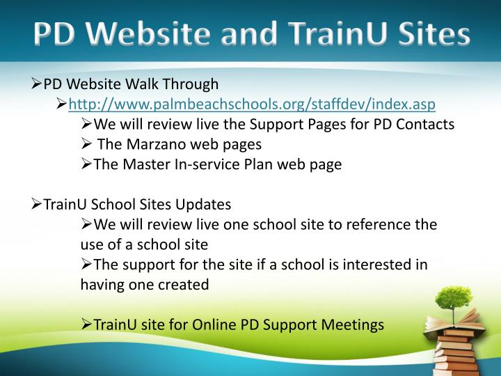 PD Website and