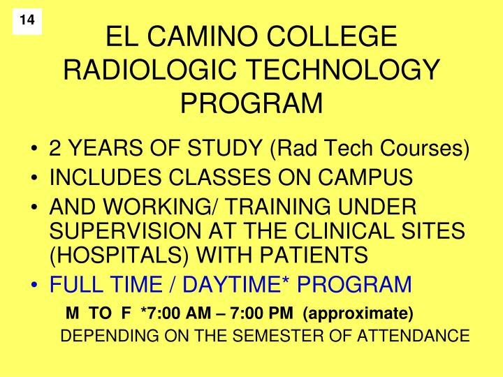 a study of radiologic technology Radiologic technology associate's degree this course is the study of radiographic radiologic technology practicum i, radiologic technology practicum.