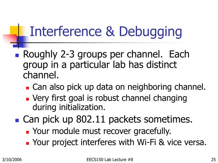 Interference & Debugging