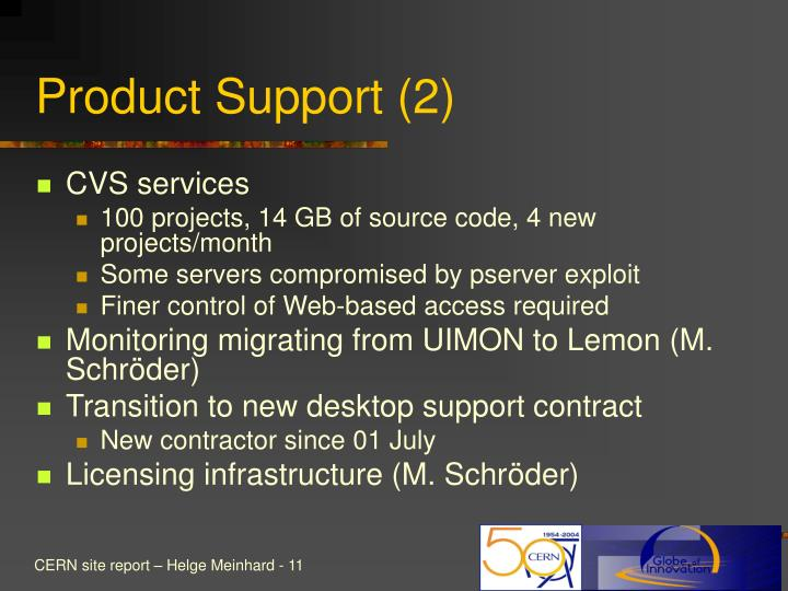 Product Support (2)