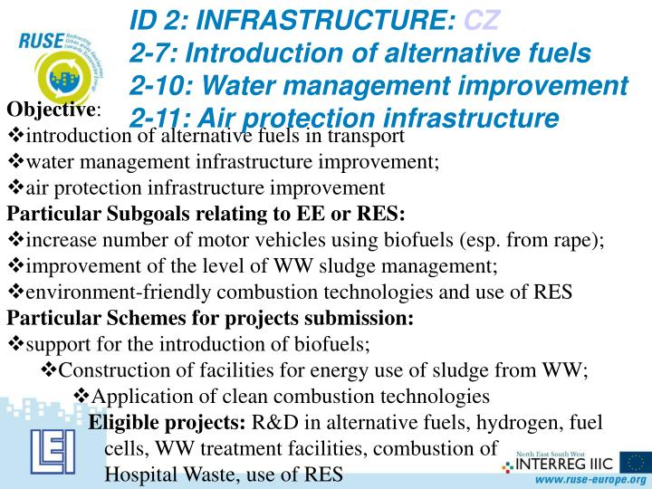 ID 2: INFRASTRUCTURE: