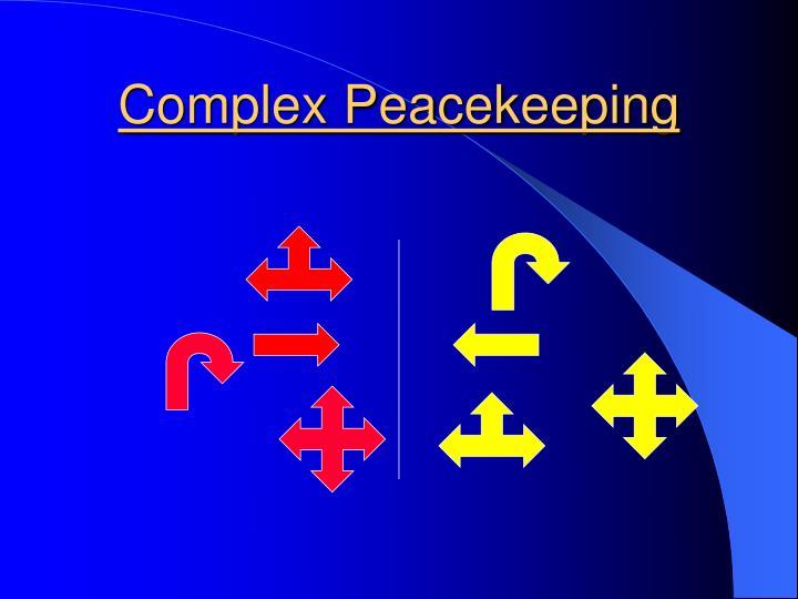Complex Peacekeeping