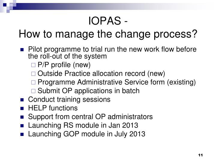 IOPAS -