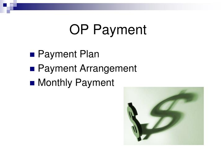 OP Payment