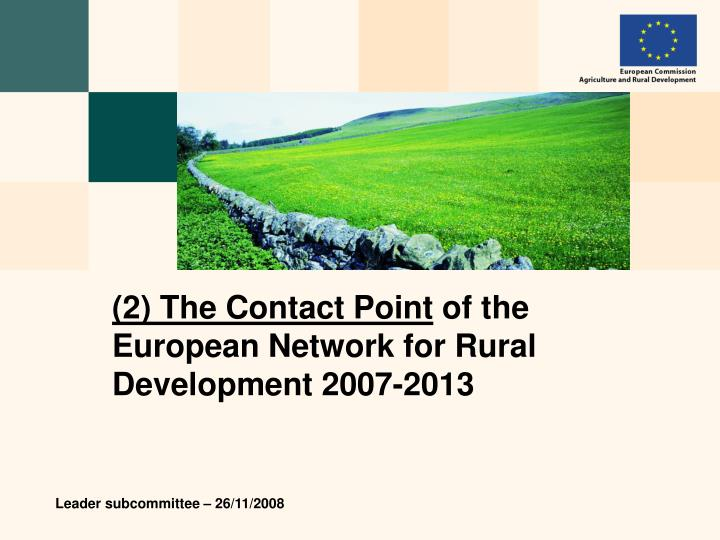 (2) The Contact Point