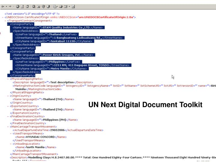 UN Next Digital Document Toolkit