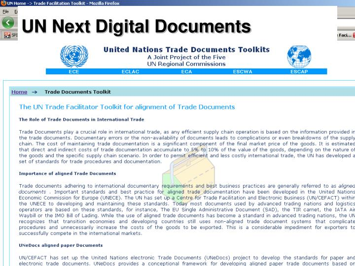 UN Next Digital Documents