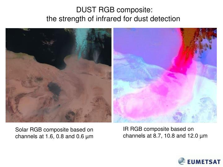 DUST RGB composite: