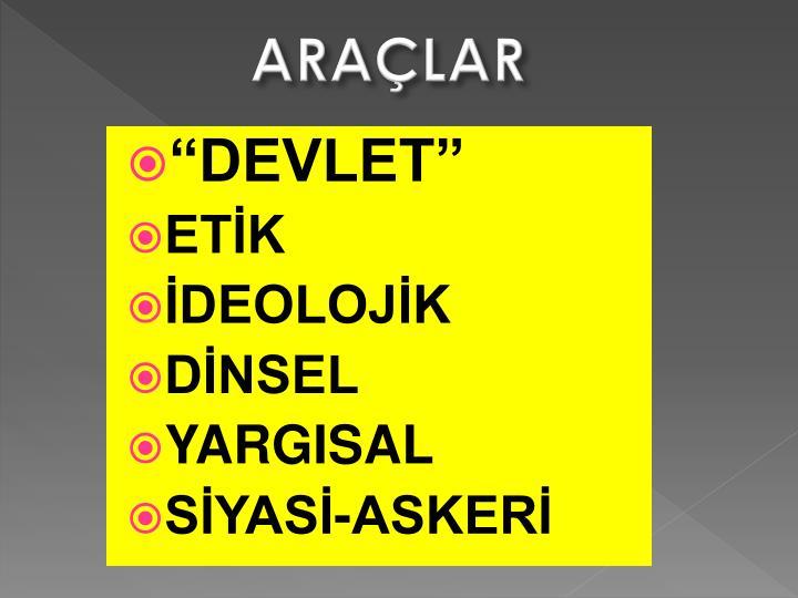 ARAÇLAR