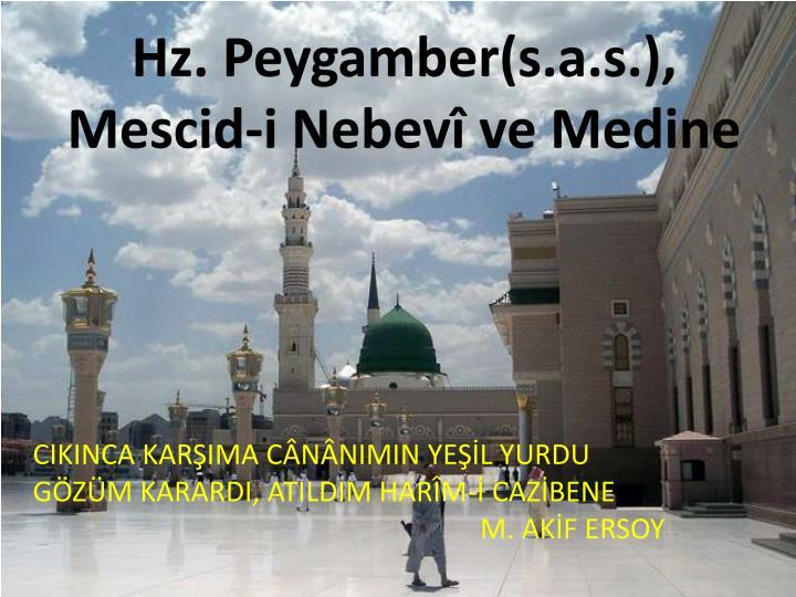 Hz. Peygamber(
