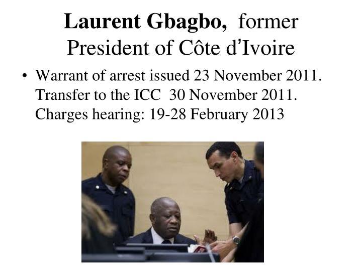 Laurent Gbagbo,