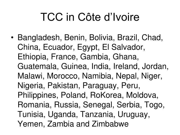 TCC in Côte d'Ivoire