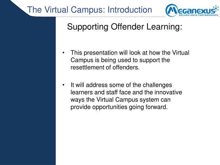 The Virtual Campus: Introduction
