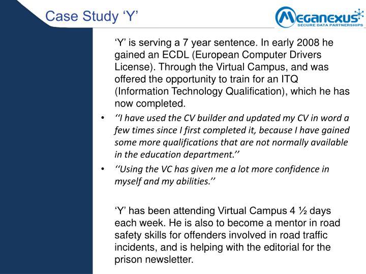 Case Study 'Y'