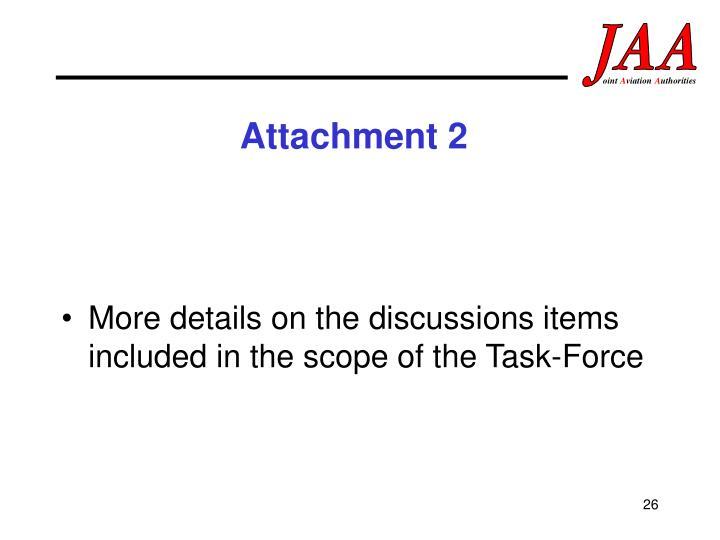 Attachment 2