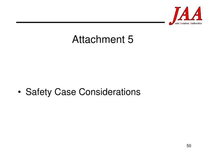 Attachment 5