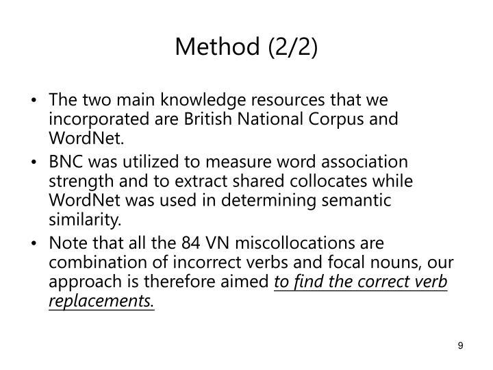 Method (2/2)