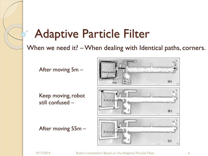 Adaptive Particle Filter