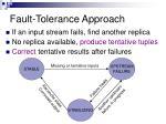 fault tolerance approach