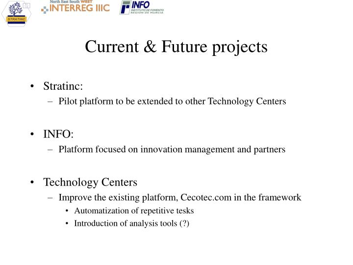 Current & Future projects
