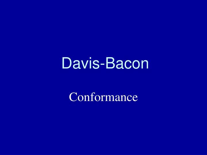Davis-Bacon