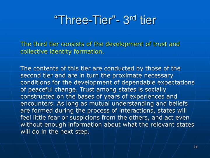 """Three-Tier""- 3"